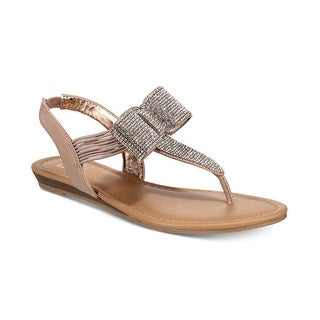 Link to Material Girl Womens Seana Fabric Open Toe Special Occasion Slingback Sandals Similar Items in Women's Shoes