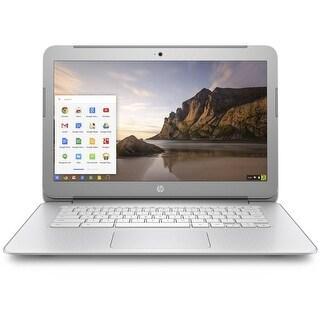 "Manufacturer Refurbished - HP 14-AK040NR 14"" Chromebook Intel Celeron N2840 2.16GHz 4GB 16GB Chrome OS"