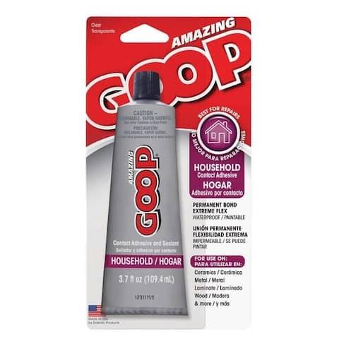 Amazing Goop 130012 All-Purpose Household Goop Adhesive/Sealant, 3.7 Oz