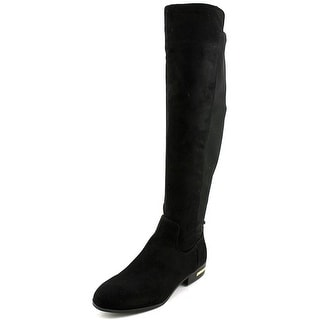 Marc Fisher Pheonix 2 Round Toe Canvas Knee High Boot