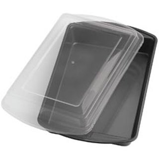 "Oblong 13""X9"" - Perfect Results Covered Cake Pan"