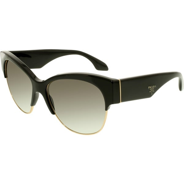 994d53d925acb ... ireland prada womenx27s gradient pr11rs 1ab0a7 56 black butterfly  sunglasses 63c48 893fa
