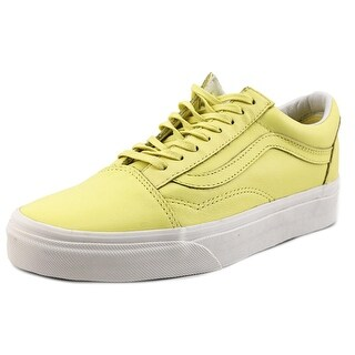 Vans Old Skool Round Toe Leather Sneakers
