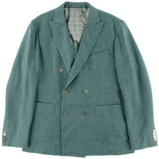 Hardy Amies Mens Wool Brinsley fit Jacket - Pistachio
