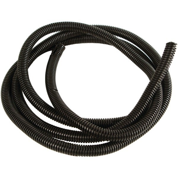 "American Terminal 27071 Black Split-Loom Cable Tubing, 100Ft (.75"")"