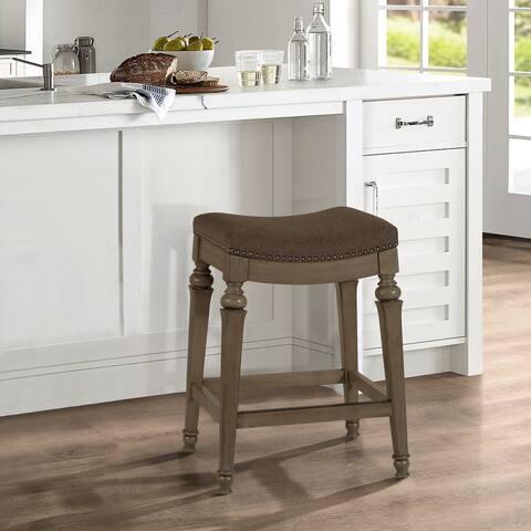 "Hillsdale Furniture's Vetrina Backless Counter Stool - 21.5""W x 15.5""L x 27""H"