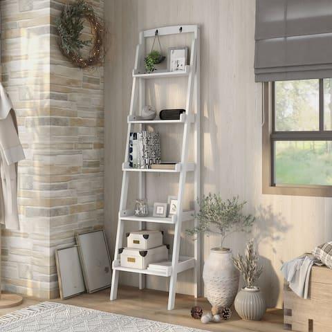Copper Grove Sagarejo 5-tier Ladder Bookshelf