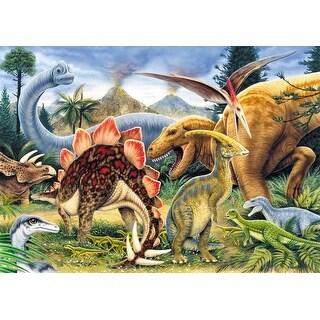 "Mini Paint By Number Kit 5""X7""-Dinosaurs - Junior - dinosaurs - junior"
