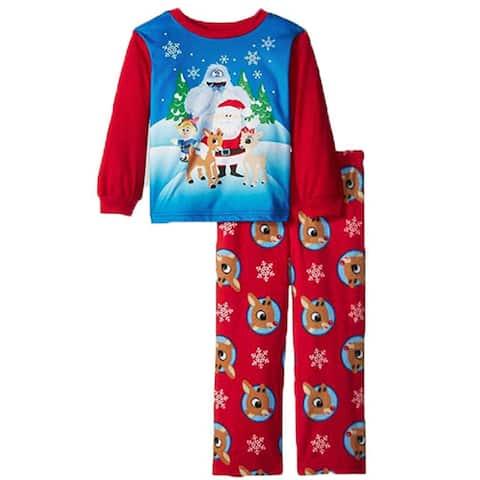Rudolph Toddler Boys Christmas Pajama 2pc Set