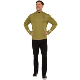 Rubies Captain Kirk Adult Costume - YELLOW