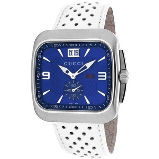 Gucci Men's G-Coupe YA131304 Blue Dial Watch