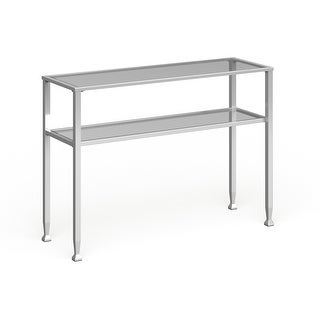Link to Silver Orchid Price Metal/ Glass Console Table Similar Items in Living Room Furniture