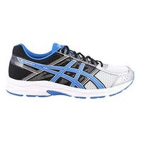 Asics Mens Gel-Contend 4, Silver/Classic Blue/Black