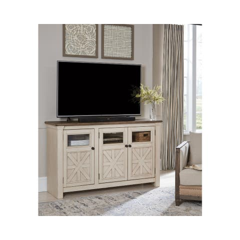 Bolanburg Casual Large TV Stand Two-tone