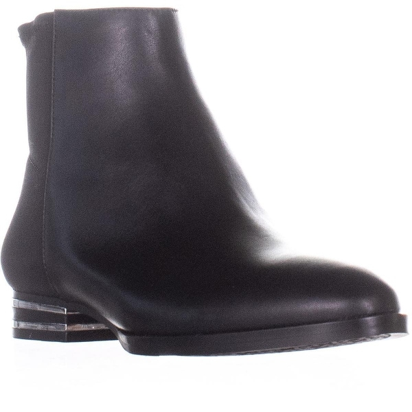 b5f19cd2567 Shop DKNY Lacey-Mid Calf Boo Flat Ankle Boots, Black - Free Shipping ...