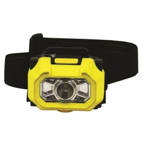 Dorcy 41-0094 180 Lumen LED Headlight, Yellow