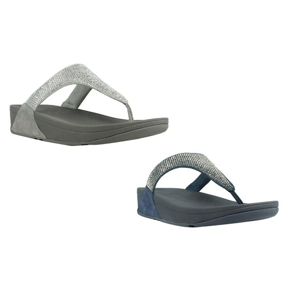 e3229b28a62 FitFlop Slinky Rokkit Toe-Post T-Strap Womens Sandals Size 5 New. Click to  Zoom