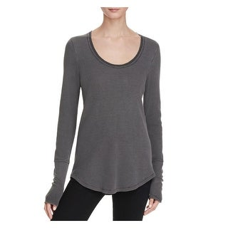 Splendid Womens Casual Top Waffle Long Sleeves (2 options available)