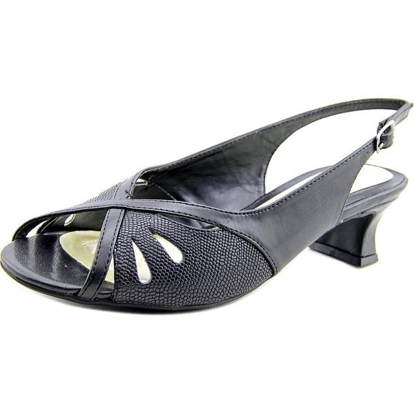 Easy Street Ilana Women Open-Toe Synthetic Slingback Heel