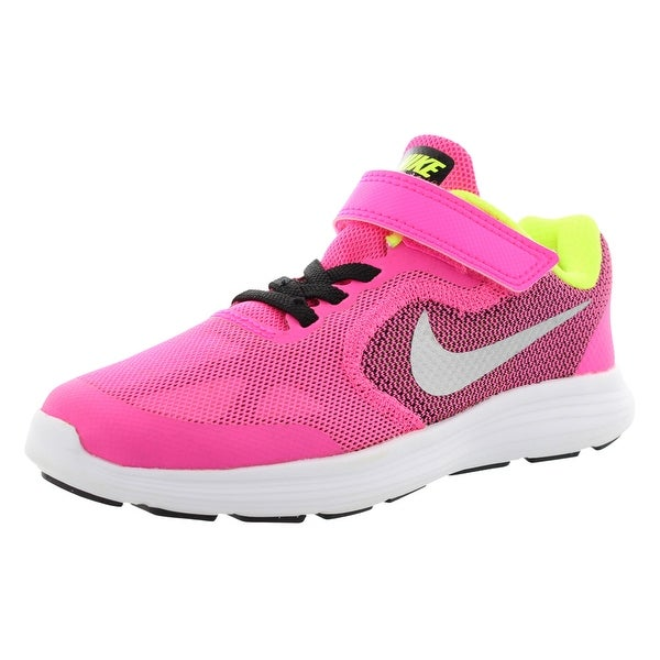 bc3cdd6ca90 Shop Nike Revolution 3 Ac Running Girls Shoes Size - 2 M US Little ...