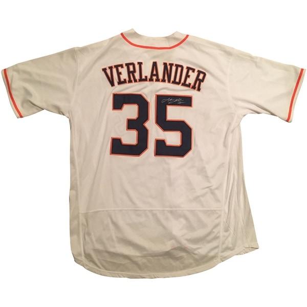 promo code bd991 7855c Shop Justin Verlander Autographed Astros Signed Baseball ...