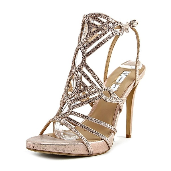 INC International Concepts Surrie Women Pearl Rose Sandals