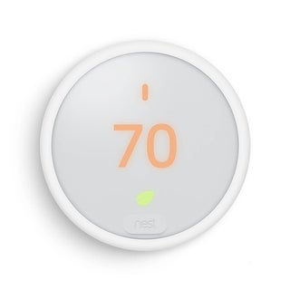 """Nest E Thermostat with LCD Display Size 1.76"""" - White"""