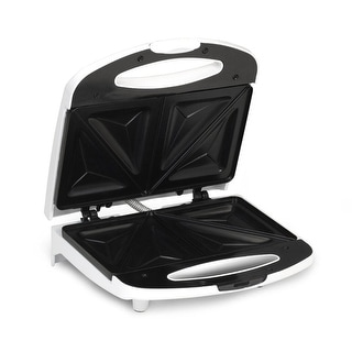 Maximatic Esm-9002k Elite Cuisine Sandwich Maker With Non-Stick, White