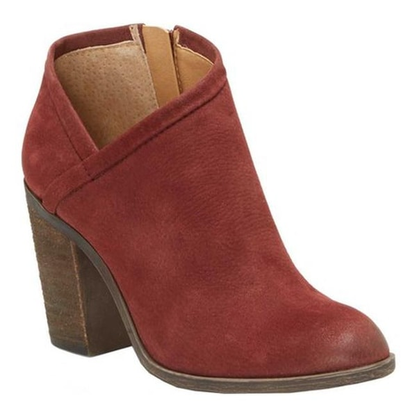546bfaabe46 Shop Lucky Brand Women s Salza Bootie Sable Leather - Free Shipping ...