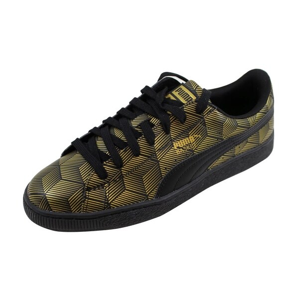 Shop Puma Men s Basket Classic Metallic Black nan 361069 01 - On ... 46eb75552