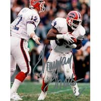 Signed Thomas Thurman Buffalo Bills 8x10 Photo autographed