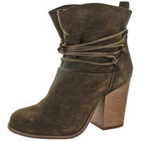 Jessica Simpson Women's Satu Fashion Ankle Bootie Leather