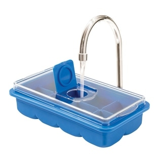 No-Spill Extra Large Ice Cube Tray With Cover