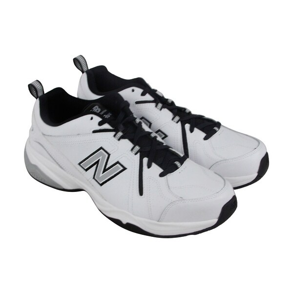 New Balance Entranement Mens White Synthetic Athletic Lace Up Training Shoes