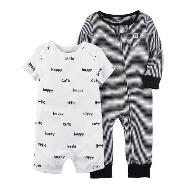 b3bd5d594 Shop Carter's Baby Boys' 2-Pc. Jumpsuit and Romper Set - 9 Months - Free  Shipping On Orders Over $45 - Overstock - 26858383