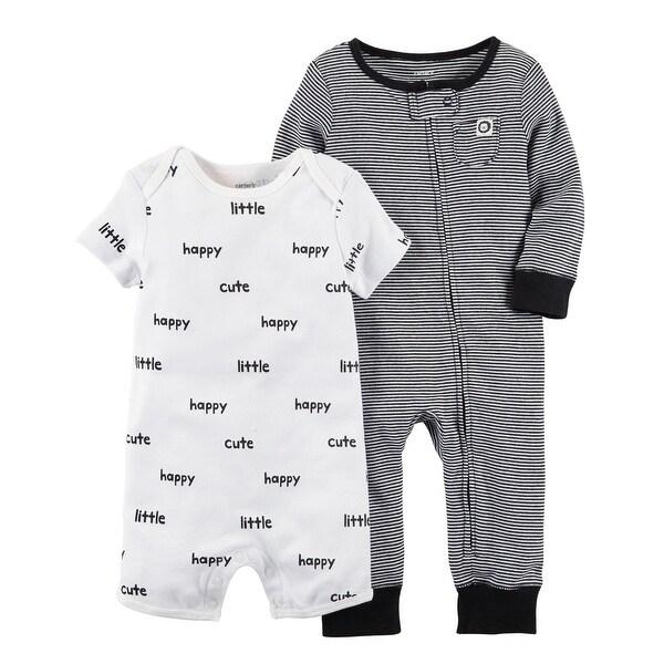 443f0d268 Shop Carter s Baby Boys  2-Pc. Jumpsuit and Romper Set -6 Months ...