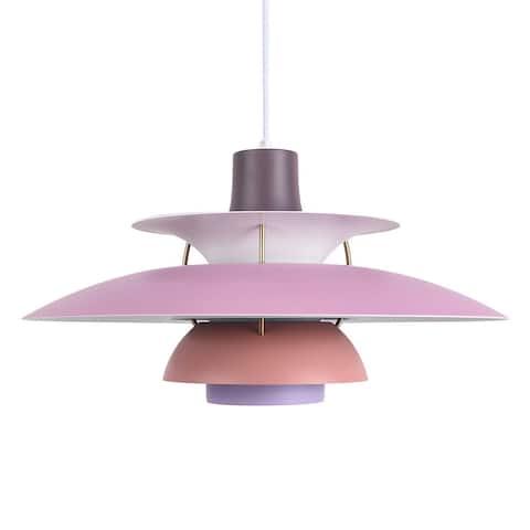 1 - Light 19.69'' Unique / Statement Dome Pendant