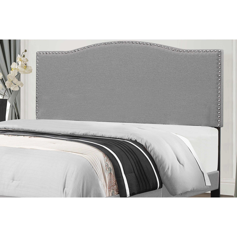 Picture of: Shop Copper Grove Durkheim Grey Fabric Upholstered Headboard Overstock 28116614