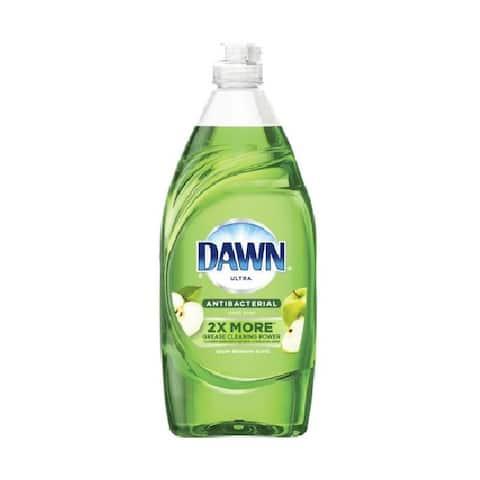 Dawn 80289029 Anti-Bacterial Dishwashing Liquid Dish Soap, Apple Blossom, 19.4 Oz