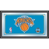 New York Knicks NBA Framed Logo Mirror