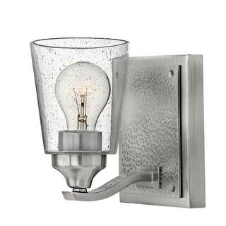 "Hinkley Lighting 51820 Jackson Single Light 5"" Wide Bathroom Sconce with Seedy Glass"