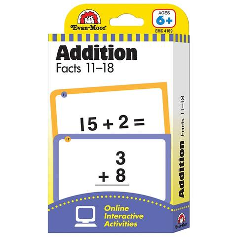 Flashcard Set Addition Facts 11 To