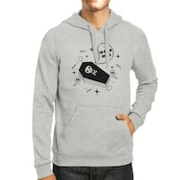 So Dead Inside Coffin Grey Hooded Sweatshirt For Halloween Outfits