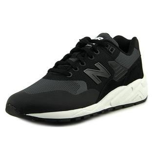 New Balance RT580 Men Round Toe Synthetic Black Running Shoe