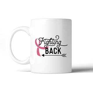 Fighting Back Arrow Cute Graphic Coffee Mug Womens Cancer Support