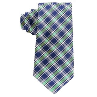 Link to Tommy Hilfiger Men's Plaid Silk Tie Navy Blue and Green Checks Neckties Similar Items in Ties