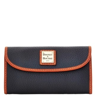 Dooney & Bourke Pebble Grain Continental Clutch (Introduced by Dooney & Bourke at $128 in Jul 2014)|https://ak1.ostkcdn.com/images/products/is/images/direct/22b0017a2e940ae8df6e04901ea9d5be62fd386c/Dooney-%26-Bourke-Pebble-Grain-Continental-Clutch-%28Introduced-by-Dooney-%26-Bourke-at-%24128-in-Jul-2014%29.jpg?impolicy=medium