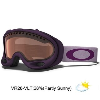 Oakley A-Frame Snow Goggle - grape wine / vr28