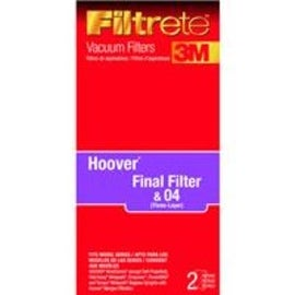 Filtrete 64802A-4 Hoover WT Final Filter, 2 Per Pack