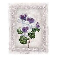 ''Flowers of Spring II'' by Tom Wood Floral Art Print (11.75 x 9.5 in.)